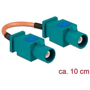 DELOCK 89663 - HF-Kabel FAKRA Z Stecker > FAKRA Z Stecker 10 cm