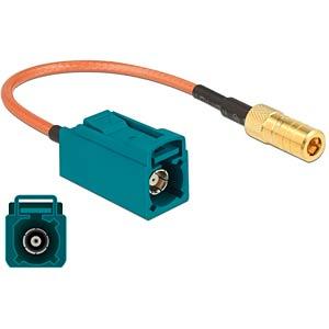 DELOCK 89671 - HF-Kabel FAKRA Z Buchse > SMB Buchse 15 cm