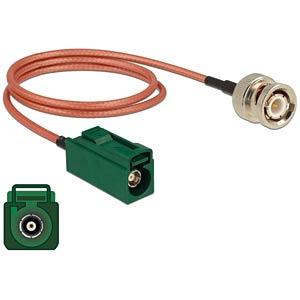 DELOCK 89681 - HF-Kabel FAKRA E Buchse> BNC Stecker 50 cm