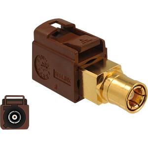 DELOCK 89682 - HF Adapter FAKRA F Buchse > SMB Buchse Delock
