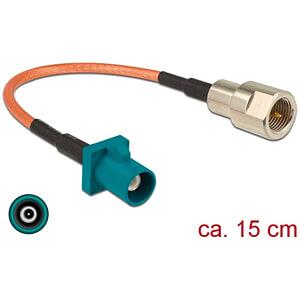 DELOCK 89834 - HF-Kabel FAKRA Z Stecker > FME Stecker 15 cm