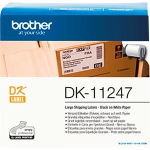 Versand-Etiketten, Papier, weiß, 103 x 164 mm BROTHER DK-11247