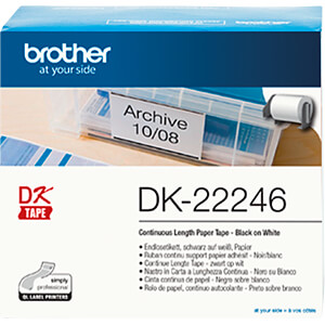 Eindeloze etiketten (papier), 103 mm breed BROTHER DK-22246