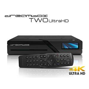 Ontvanger, SAT, BT, 2x DVB-S2X MIS, 4K DREAMBOX TWO ULTRA