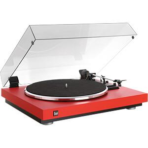 vollautomatischer Plattenspieler, rot DUAL CS 440