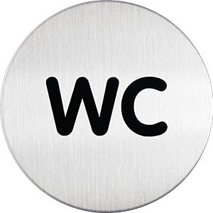 DURABLE 490723 - PICTO ''WC''