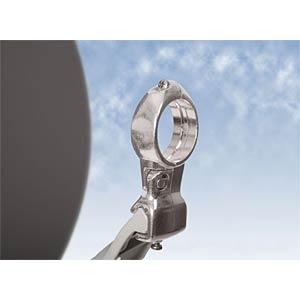 SAT satellite dish, 75 cm, light grey DUR-LINE 12080