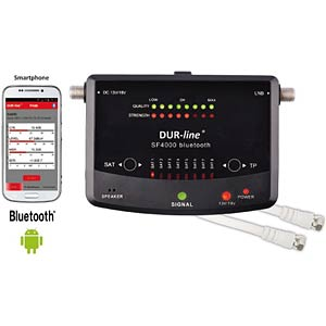 Pegelmessgerät mit LCD-Display & Bluetooth DUR-LINE 100524
