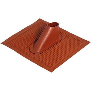 Roofing tile, aluminium, brick red FREI