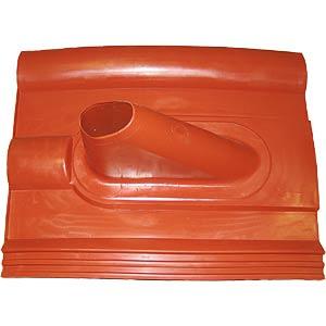 Dachziegel aus Kunststoff Frankfurter rot FREI