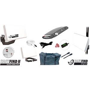 EASYFIND 5011 - Flachantenne mit Receiver & Tasche