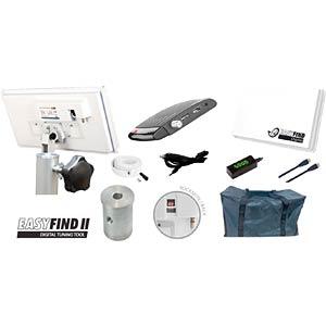 EASYFIND 5013 - Flachantenne mit Receiver,Stativ &Tasche