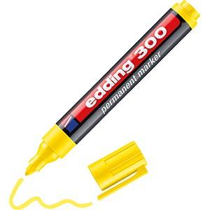 EDDING 300GE - Permanent Marker / gelb / 1,5-3,0mm