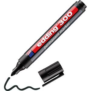 EDDING 300SW - Permanent Marker / schwarz / 1,5-3,0mm