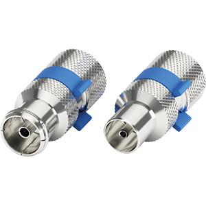 IEC-Stecker & Buchse, EasyFit - je 1 Stück PURELINK EF130-02