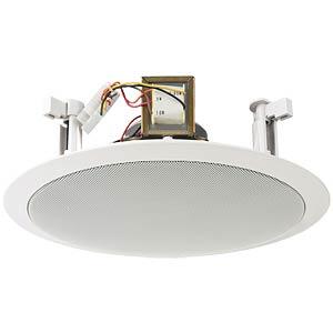 Ceiling speaker 10 W RMS MONACOR 16.1460