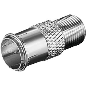 F connector® F coupling / plug Quickfix FREI
