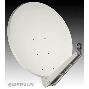 Sat Spiegel, 85 cm, lichtgrau (RAL 7035) GIBERTINI OP 85 SE