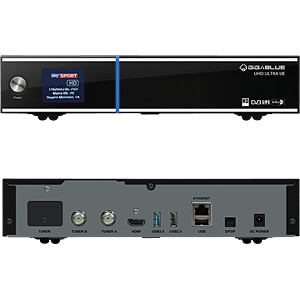 Receiver, SAT, DVB-S2, Linux, UHD GIGABLUE UHD-GB/002