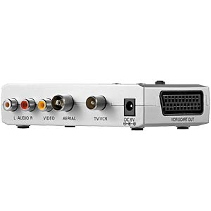 Audio/video HF modulator (UHF/VHF) with LED GOOBAY 67238