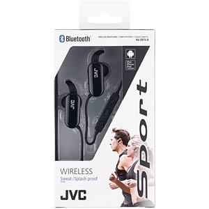 Sporttauglicher Bluetooth-Kopfhörer, schwarz JVC HAEBT5BE