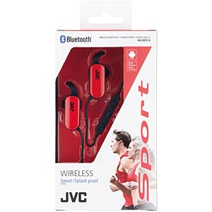 Wireless inner ear headphones JVC HAEBT5RE