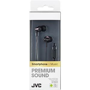Inner ear headphone/ black JVC HAFR325BE