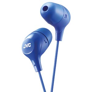 Inner ear headphone / blue JVC HAFX38AE