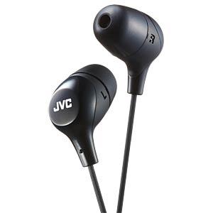 In-Ear Kanal Kopfhörer, schwarz JVC HAFX38BE