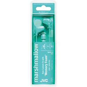 Inner ear headphone / green JVC HAFX38GE