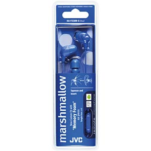 Inner ear headphone / blue JVC HAFX38MAE