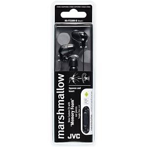 Inner ear headphone / black JVC HAFX38MBE