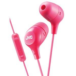Inner ear headphone / pink JVC HAFX38MPE