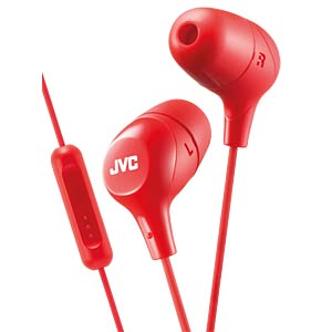 Headset, In Ear, rot JVC HAFX38MRE