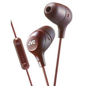 Inner ear headphone / brown JVC HAFX38MTE