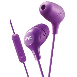 Inner ear headphone / violet JVC HAFX38MVE