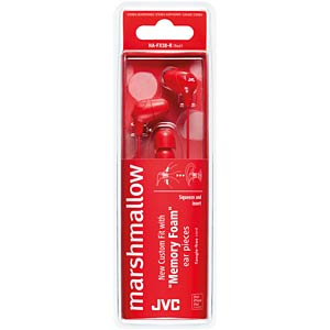 In-Ear Kanal Kopfhörer / rot JVC HAFX38RE