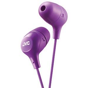 Inner ear headphone / violet JVC HAFX38VE