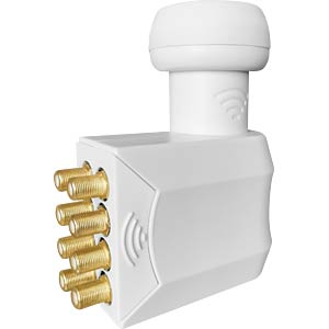 Universele octo LNB, 0,1dB, 40mm feed MEGASAT 0401088