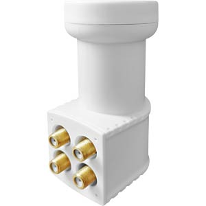 Universal Quad LNB, 0.1 dB, 40-mm feed MEGASAT 0401074