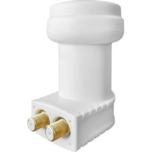 Universal Twin LNB, 0,1dB, 40mm Feed MEGASAT 0401073