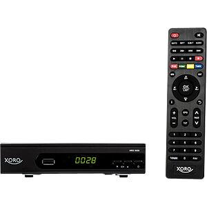 Receiver, SAT, DVB-S2, XORO SAT100596