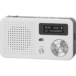 DABMAN 13WS - Mobiles DAB+ und UKW Radio