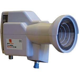 LNB, Glasfasertechnik, digital, 40 mm GLOBAL INVACOM