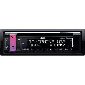 Digital-Media-Receiver, AOA 2.0, USB, DSP JVC KD-R891BT