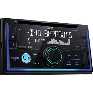 Digital-Media-Receiver, DAB+, VA-LC-Display, Streaming Control JVC KW-DB93BT