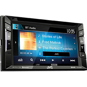 Multimedia-Receiver, 15,7 cm Touch-Display, Streaming Control JVC KW-V240BT