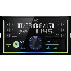 Digital-Media-Receiver, A2DP, RGB, VA-LC-Display JVC KW-X830BT