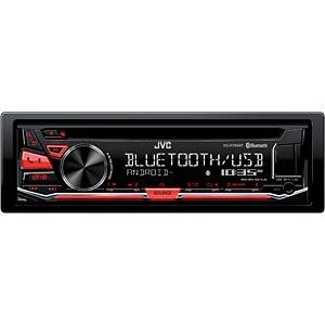 1-DIN cd-ontvanger met bluetoothfunctie JVC KDR784BT