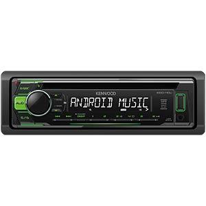 USB / CD-Receiver mit grüner Tastenbeleuchtung KENWOOD KDC110UG